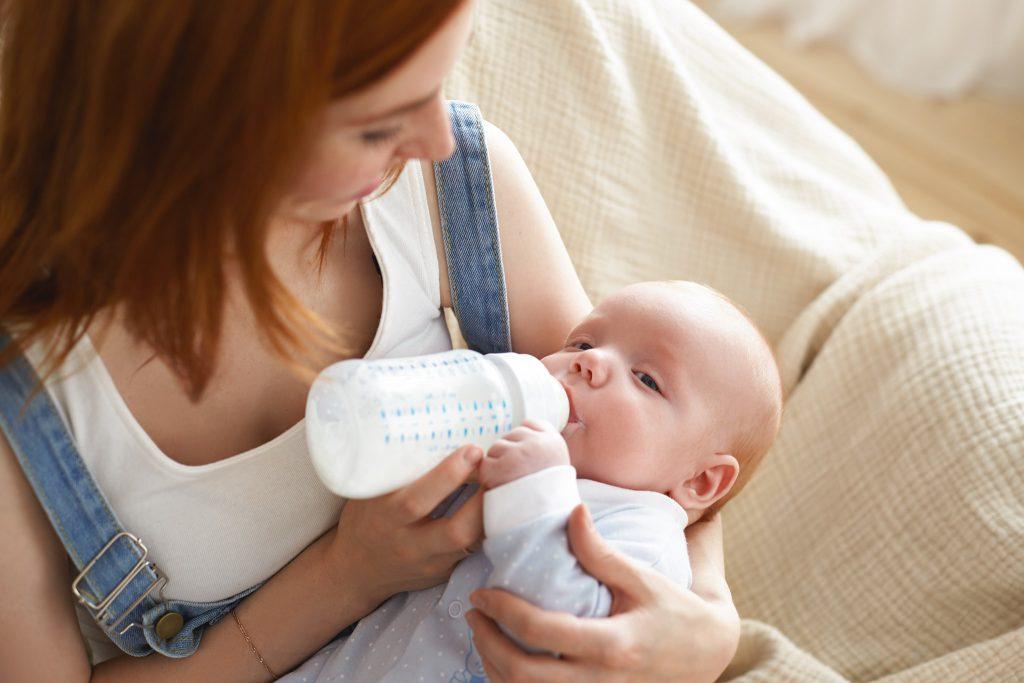 Moedermelk invriezen